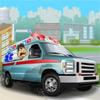 Conduce la ambulancia
