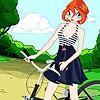 Las bellas ciclistas