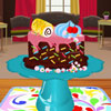 Decorando una torta deliciosa