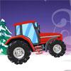 Maneja el tractor de Navidad