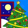 Colorea el árbol de navidad