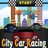 Emocionante carrera de coches