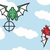 Dispara a los dragones malos
