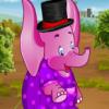 Viste al elefante bebé
