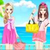 Barbie de hermanas gemelas