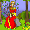 Colorea a la Princesa Bella