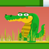 Alimenta al cocodrilo