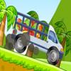 Carrera de camiones de fruta