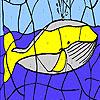 Colorear enorme ballena