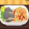 Deliciosos camarones a la parrilla