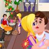 Barbie en el salón de mascotas