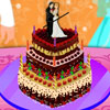 Decora el pastel de bodas