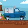 Carrera de camiones lecheros