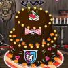 Pastel de cumpleaños del Día de las Brujas
