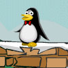 Pingüino ladrón de queso