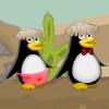 Pingüinos atrevidos