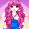 Barbie, la novia con cabello rosado