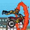 Saltarín ciclista del anillo de fuego