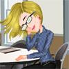 Barbie, la Bella Durmiente de la oficina