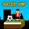 Partido de fútbol saltarín