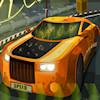 Carrera de coches de alta velocidad