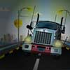 Conduzca el camión de carga