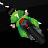 Carrera de moto súper rápida