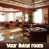 Su sala de estar